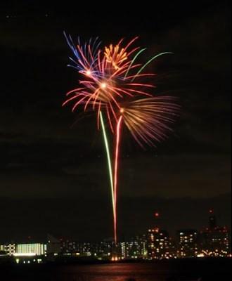 Lễ hội băn pháo hoa ở Nhật Bản