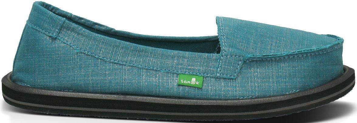 *天呀!瑜珈墊在鞋裡面!:Sanuk金屬絲質OHM MY懶人鞋! 6