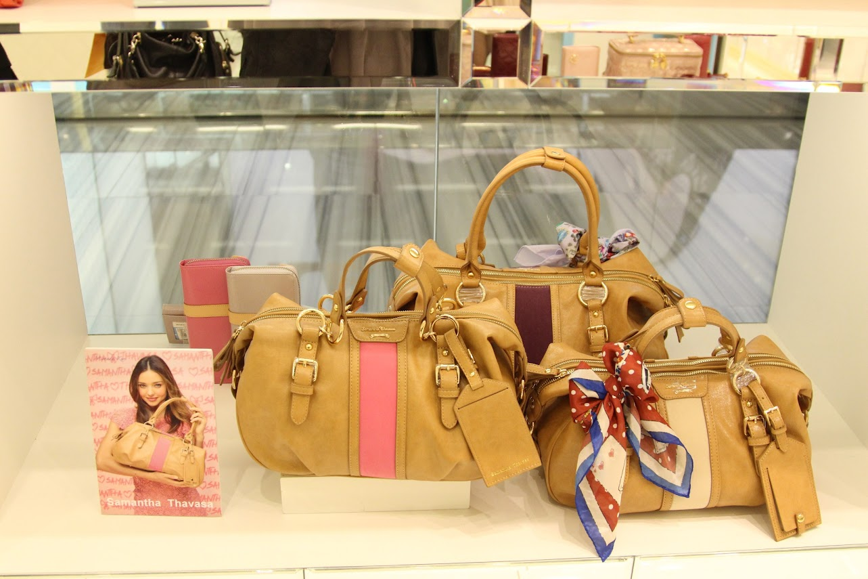 *Samantha Thavasa x Hello Kitty 艾咪包:耶誕大使王陽明挑起你的少女心! 8