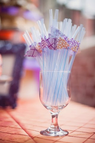 wedding straws