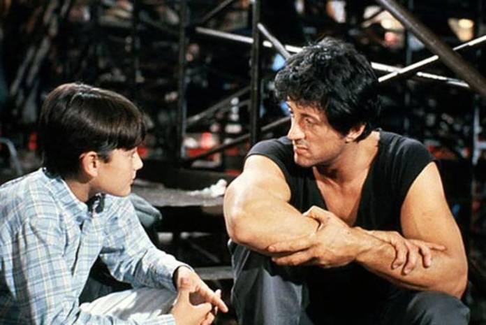"""Sylvester Stallone en """"Yo el halcón"""""""