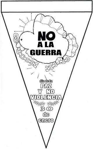 ESPECIAL DE PAZ: Banderines para el Día de la Paz