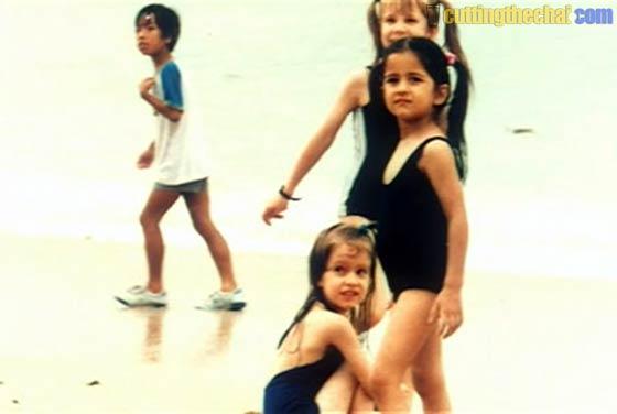 Katrina Kaif (Baby, chidlhood and teenage photos)