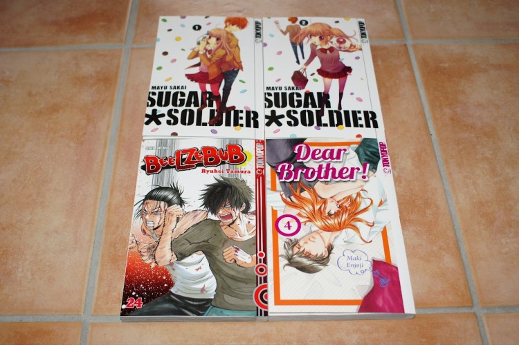 Tokyopop Manga Sugar Soldier Sugar Pack Beelzebub Dear Brother! Loot