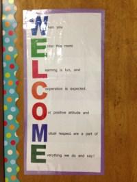 Classroom Door Welcome Signs | www.pixshark.com - Images ...