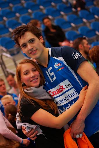 Thomas Rousseaux en vriendin