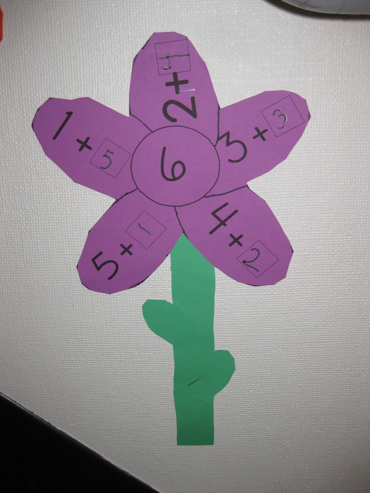 March Showers Bring Math Flowers