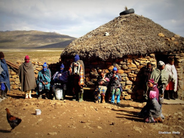 The friendly people of Lesotho