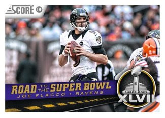 2013 Score Joe Flacco Road to the Super Bowl