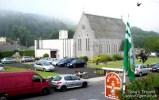 Foynes Church from our B&B window