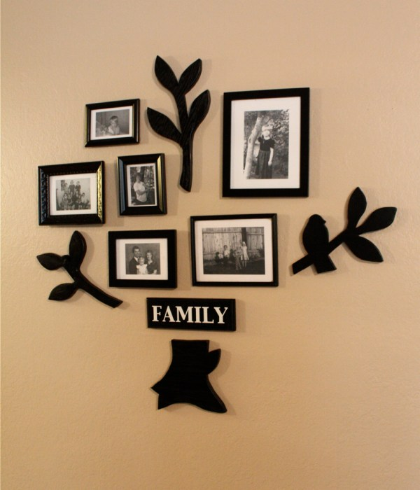 Family Tree Picture Frame Wall Art