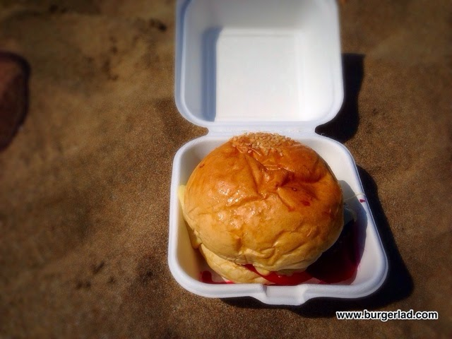 Life's a Beach Kiwi Burger