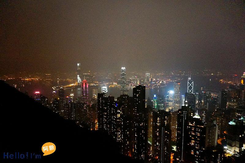 香港夜景,太平山夜景,凌霄閣摩天台428-6