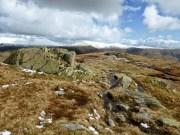 Leaving Calf Crag for Gibson Knott
