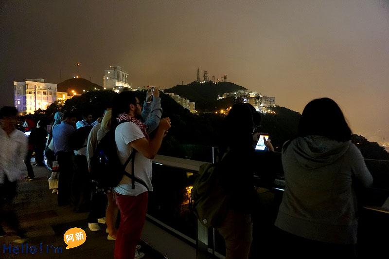 香港夜景,太平山夜景,凌霄閣摩天台428-7