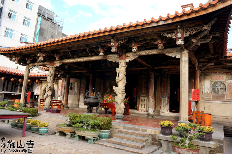 鹿港龍山寺 來到彰化鹿港一定要去的景點-鹿港龍山寺,在台灣保存最完整的清朝建築物!