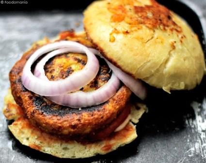 Mcaloo Tikki汉堡食谱