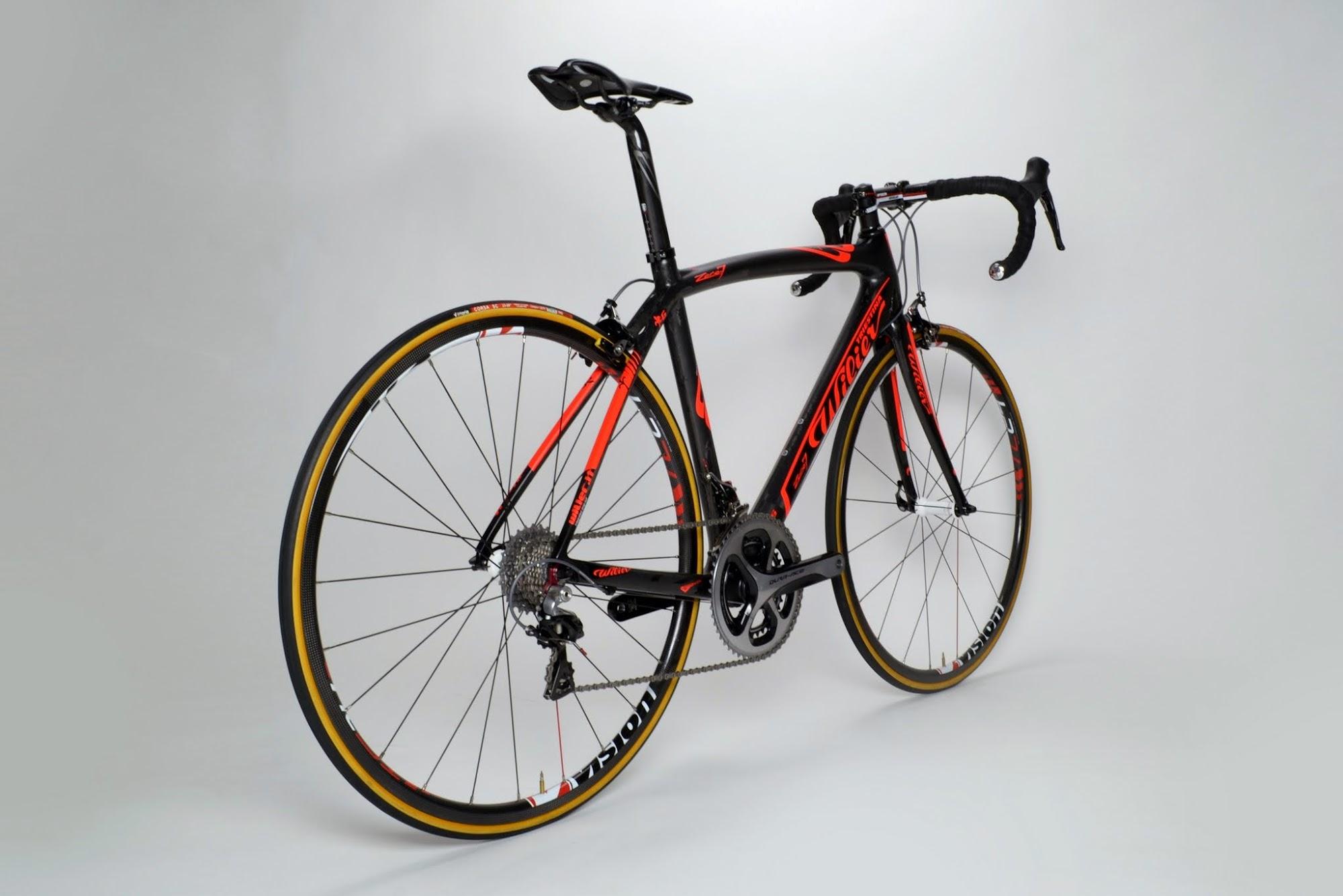 www.twohubs.com: 2014 Team Colombia Wilier Triestina Zero.7 Complete Bike at twohubs.com