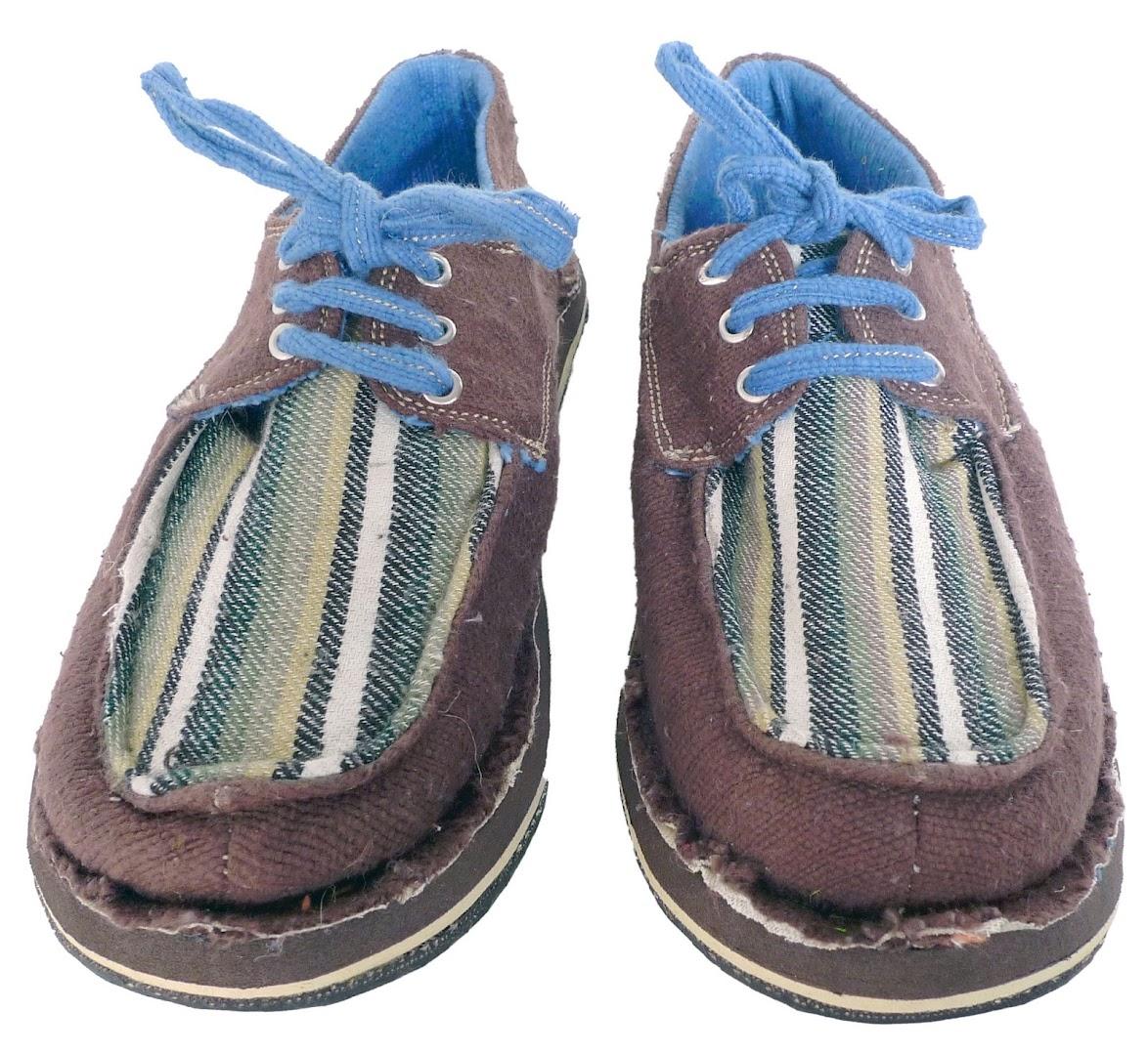 # soleRebels 非洲色彩圖騰帆船鞋:阿比西尼亞麻編織系列! 5