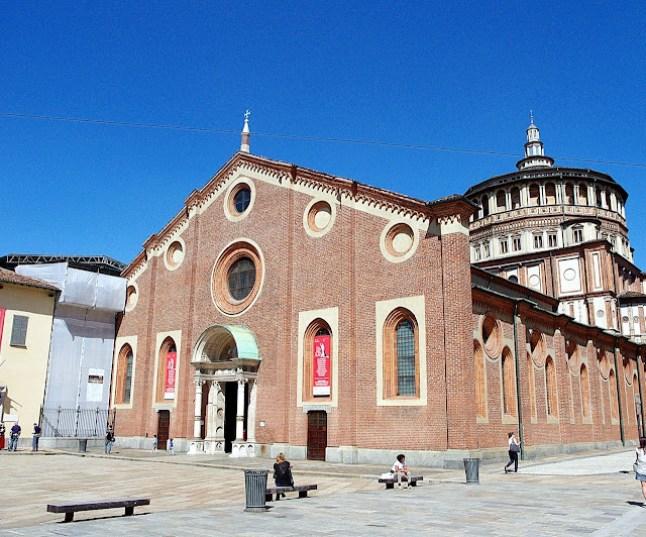 Iglesia de Santa María delle Grazie, la última cena leonardo da vinci