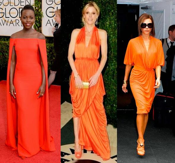 Que cor de sapato usar com vestido laranja?   Debora Wolf