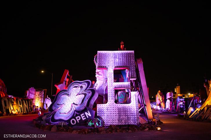 Las Vegas Neon Museum // What to Do in Las Vegas NV.