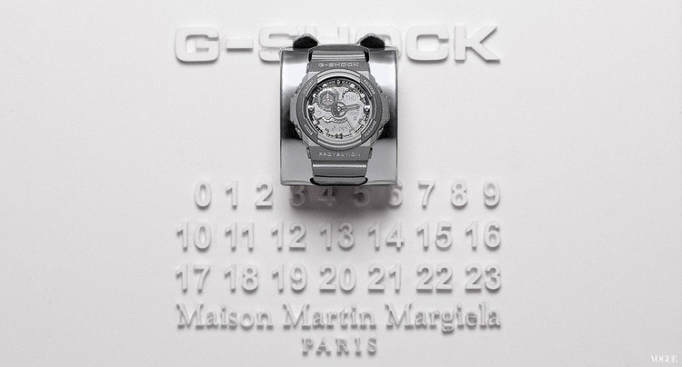 *Maison Martin Margiela x G-shock:GA-300聯名限量銀色液態金屬錶! 2