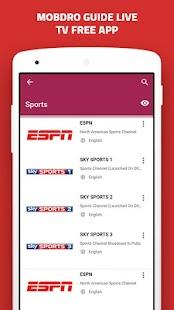 Télécharger Guide for Mobdro TV free app pour PC Gratuit