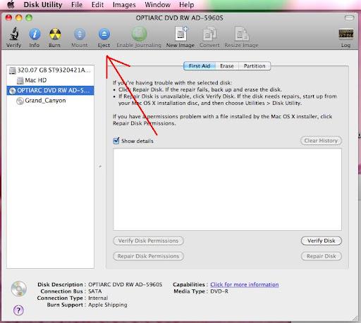 怎樣把CD/DVD從Mac電腦裡退出來? @ 活到老學到老 :: 痞客邦