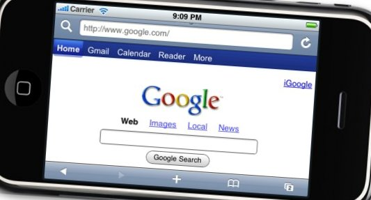 Google en los dispositivos móviles