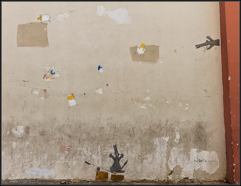 Фото: Граффити Тель Авива