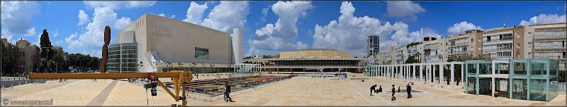 Фото: Панорама: Театр Габима. Все сразу