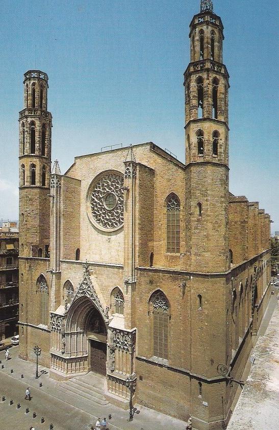 Image result for templo de Santa María de la Mar