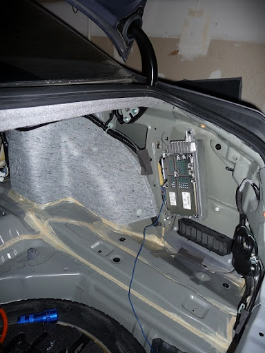 2004 nissan 350z bose radio wiring diagram 2006 kia spectra diy amp wire (and backseat removal) - acurazine acura enthusiast community