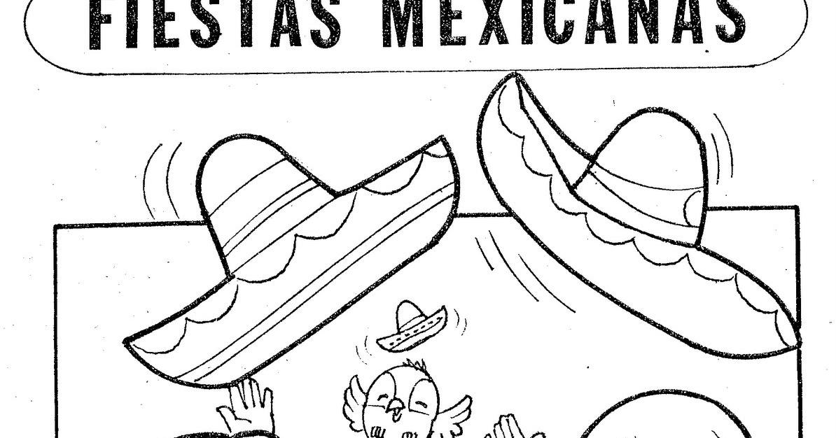 Figuras Para Colorear De Fiestas Patrias