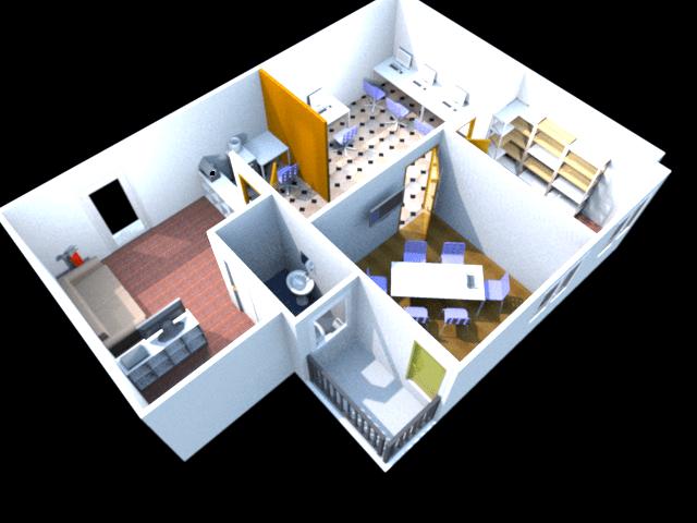 SweetHome3D rendering