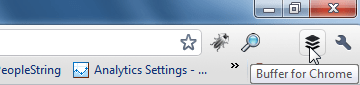 Buffer Icon Chrome