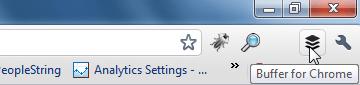 Buffer Icon Chrome