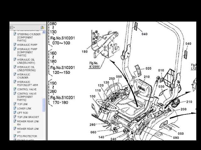 kubota wiring diagram pdf hunter ceiling fan light switch toyskids co bx22 bx23 bx24 parts manual set for bx 22 23 24 l2900