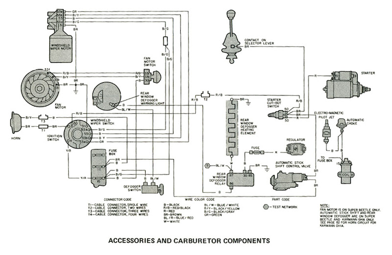 71 Vw Karmann Ghia Wiring Diagram, 71, Free Engine Image