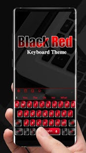 keyboard.theme.black.red.cool.business