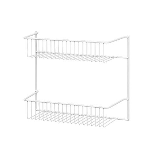 Buy It Now: Best ClosetMaid 8002 2-Tier Wall Rack, 12-Inch