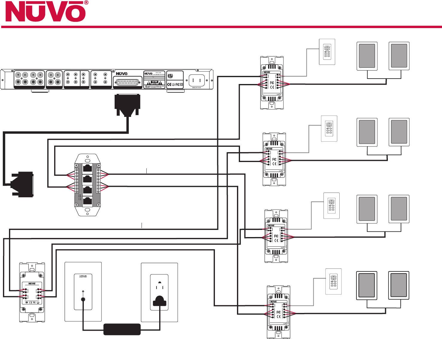home stereo wiring diagram defy oven nuvo audio and
