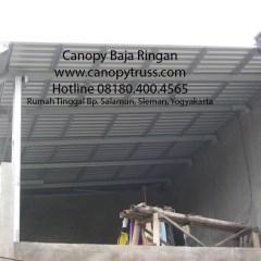 Kanopi Baja Ringan Yogyakarta Harga Lysaght Ajaran D
