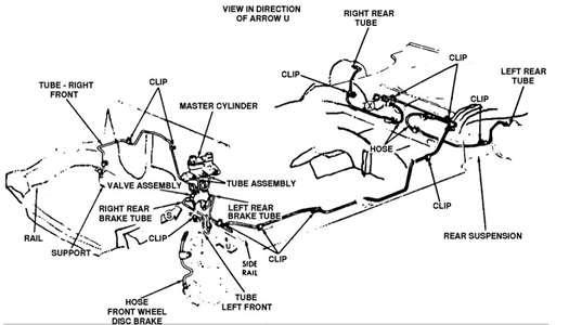 1999 Ford Ranger Drum Brake Diagram