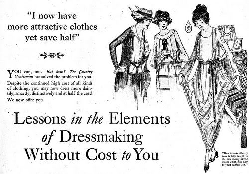 ADORED VINTAGE: Pre 1920s Fashion & Beauty Advertisements