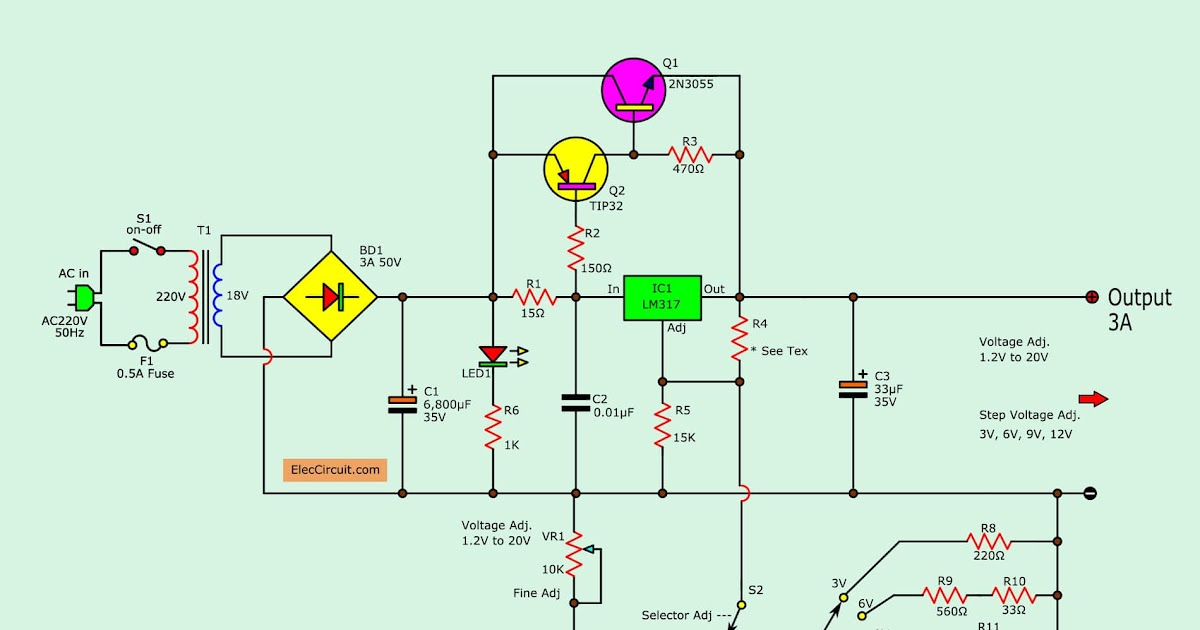 circuits diagrams design projects electronics circuit