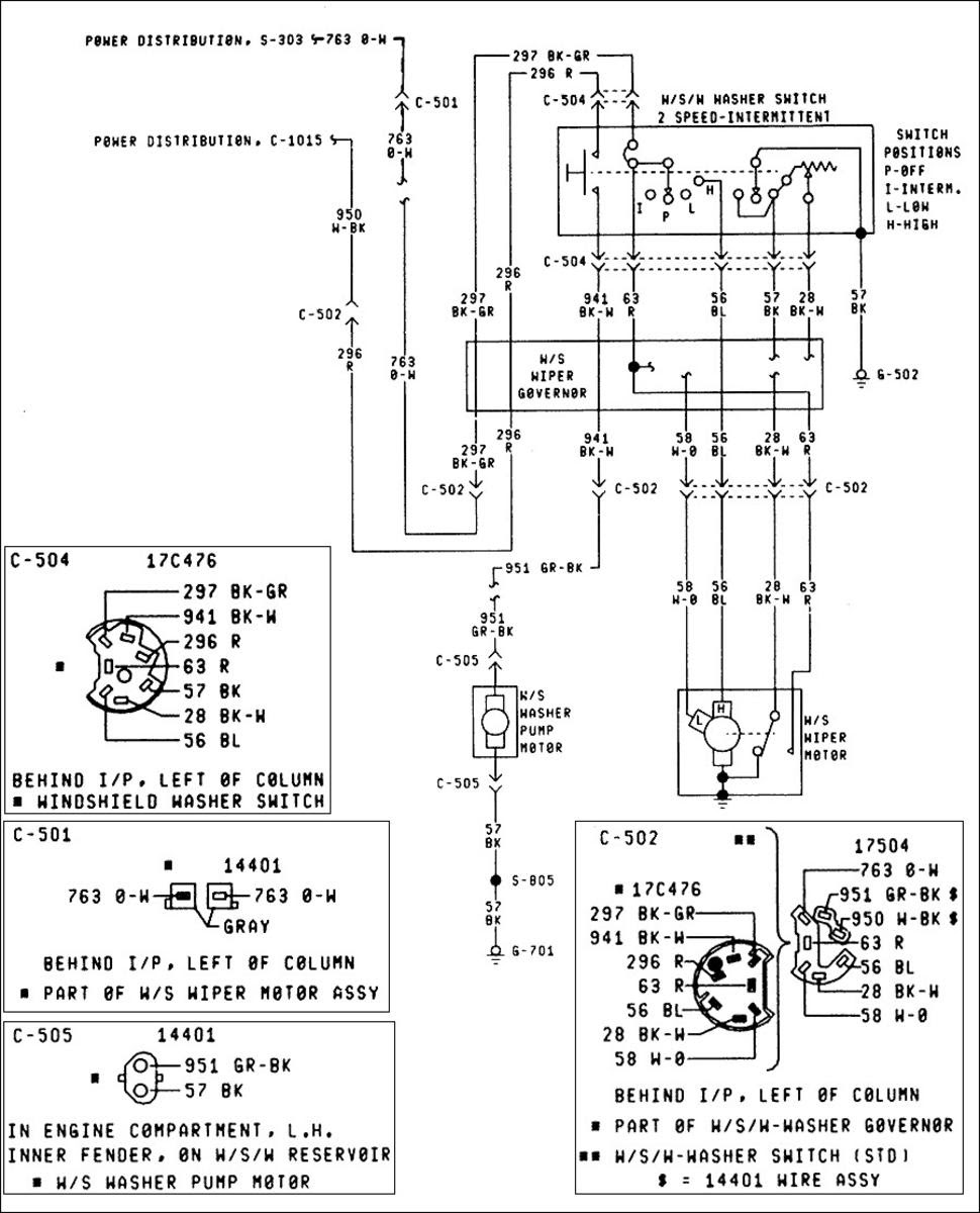wiper motor wiring diagram ford load trail dump trailer battery windshield stream