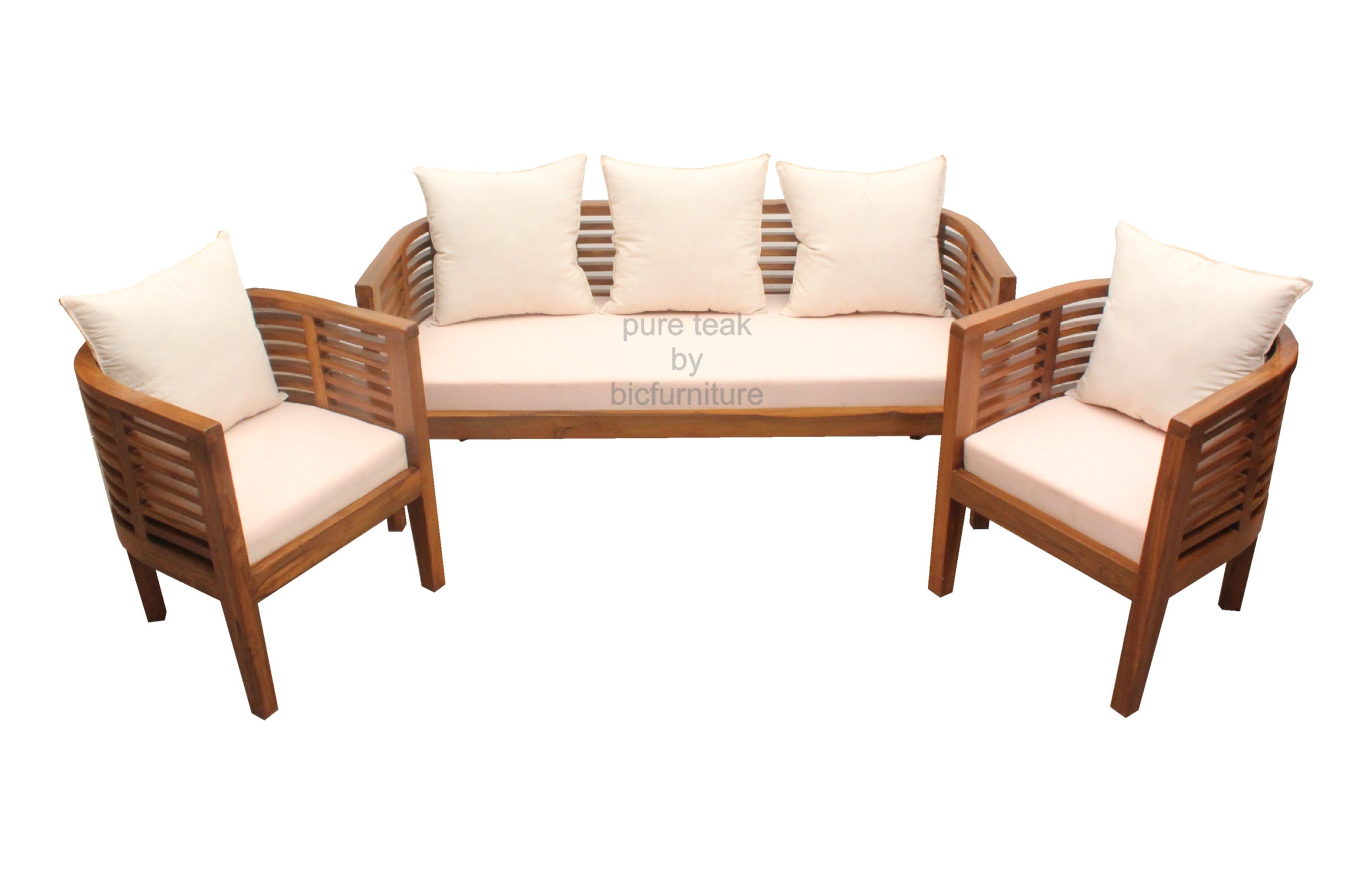 teak wood sofa set philippines table pipe legs wooden furniture photo home and garden