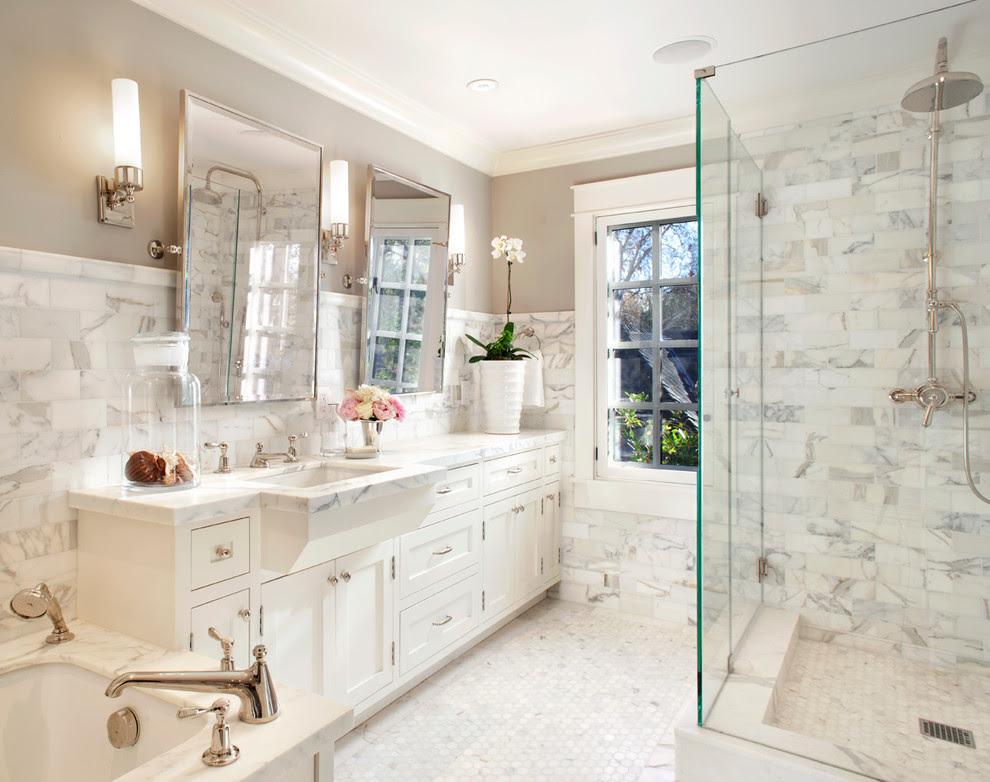 classic bathroom tile design thatcherite